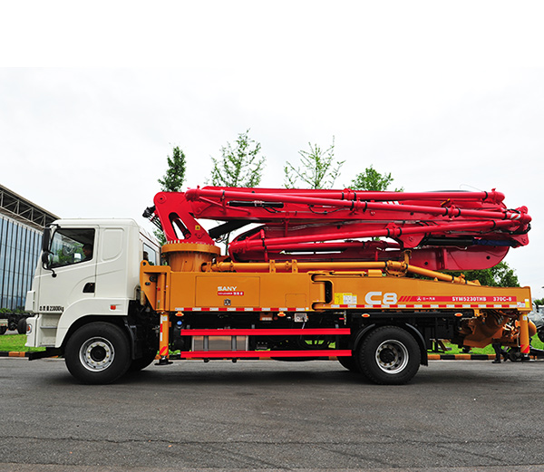 ავტო ტუმბო Автобетононасос Truck Mounted concrete pump SANY